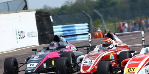 British Formula 4 in Thruxton (GB) 07./08. Mai 2016