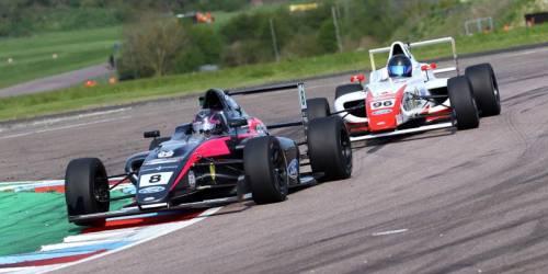 British Formula 4 in Thruxton (GB) 07./08. Mai 2016