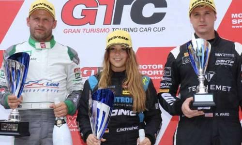 Pole Position, Sieg und vorzeitige Meisterschaft in der GT3-Klasse für Carrie Schreiner
