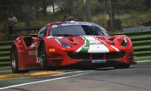 Doppelpodium für Carrie Schreiner mit Ferrari in Imola