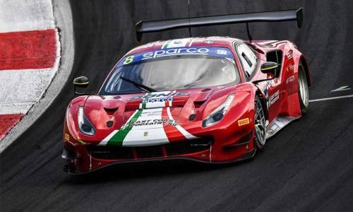 Internationale italienische GT Meisterschaft: Wieder Doppelpodium für Carrie Schreiner