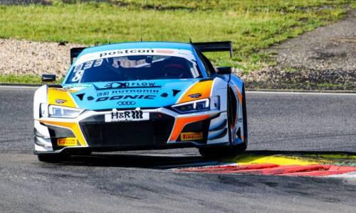ADAC GT Masters Nürburgring: Platz 8 und Junior-Podium für Carrie Schreiner