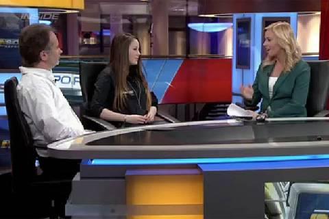 Carrie Schreiner bei Sky – Inside Report am 21. November 2014