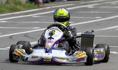 Carrie Schreiner vorzeitig Meister des ADAC Kart Masters
