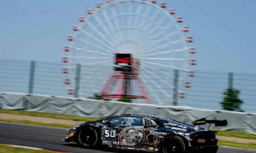 Lamborghini Super Trofeo Asia in Suzuka: Schwieriges Wochenende mit Happy End für Carrie Schreiner