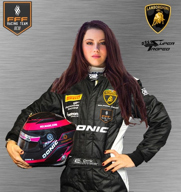 Carrie Schreiner Changed With The Fff Lamborghini Squadra Corse Team